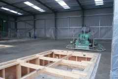 New-Exention-for-Kai-Foods-Trafford-Park.-Installed-mesh,-DPM,-spacers-and-formwork.-Power-float-finish