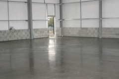 New Industrial Unit Power Float Finish